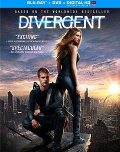 Divergent [Blu-ray + DVD combo] cover image