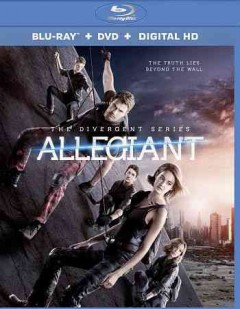 Allegiant [Blu-ray + DVD combo] cover image