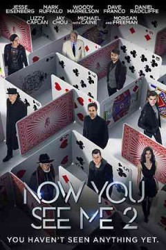 Now you see me 2 [Blu-ray + DVD combo] cover image