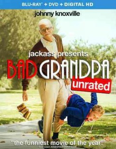 Bad grandpa [Blu-ray + DVD combo] cover image