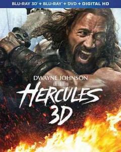 Hercules [3D Blu-ray + Blu-ray + DVD combo] cover image