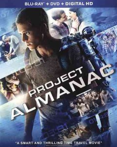 Project almanac [Blu-ray + DVD combo] cover image