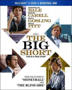 The big short [Blu-ray + DVD combo] cover image