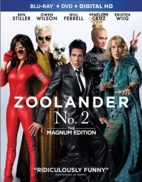 Zoolander 2 [Blu-ray + DVD combo] cover image