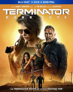 Terminator. Dark fate [Blu-ray + DVD combo] cover image
