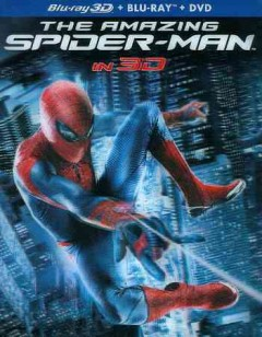 The amazing Spider-man [3D Blu-ray + Blu-ray + DVD combo] cover image