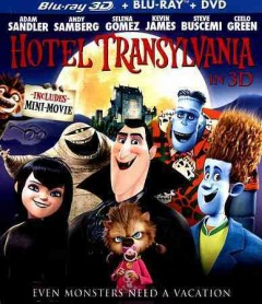 Hotel Transylvania [3D Blu-ray + Blu-ray + DVD combo] cover image
