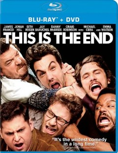 This is the end [Blu-ray + DVD combo] cover image