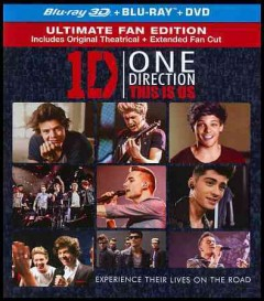 One Direction [3D Blu-ray + Blu-ray + DVD combo] this is us cover image