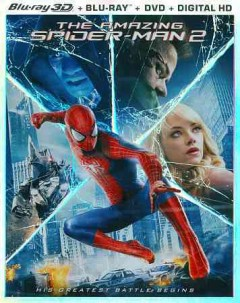 The amazing Spider-Man 2 [3D Blu-ray + Blu-ray + DVD combo] cover image