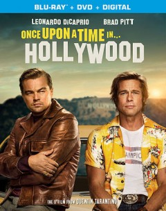 Once upon a time... in Hollywood [Blu-ray + DVD combo] cover image
