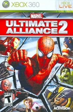 Ultimate alliance 2 [XBOX 360] cover image