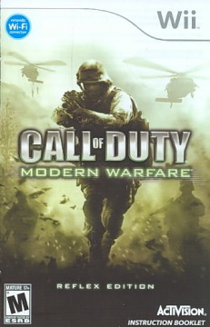 Call of duty. Modern warfare [Wii] cover image