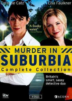 Murder in Suburbia. Complete collection cover image