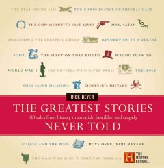 The greatest stories never told : 100 tales from history to astonish, bewilder & stupefy cover image