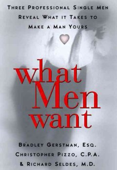 What men want : three professional single men reveal to women what it takes to make a man yours cover image