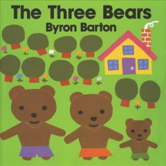 The three bears cover image