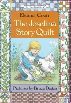 The Josefina story quilt cover image
