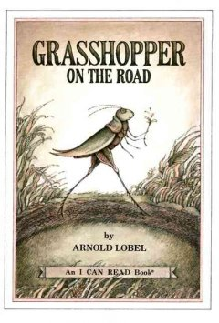 Grasshopper on the road cover image