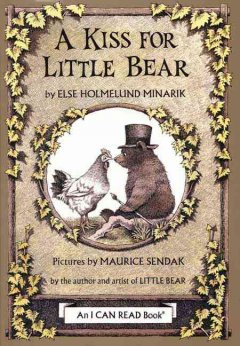 A kiss for Little Bear cover image