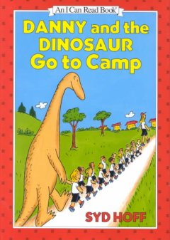 Danny and the dinosaur go to camp cover image
