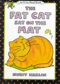 The fat cat sat on the mat cover image