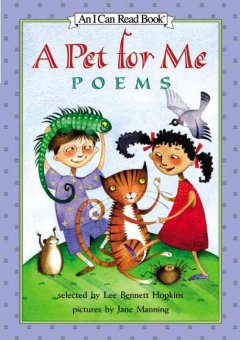 A pet for me : poems cover image