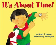 It's about time! cover image