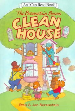 The Berenstain Bears clean house cover image