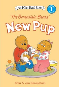 The Berenstain Bears' new pup cover image