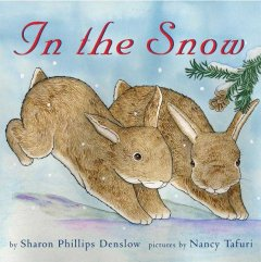 In the snow cover image