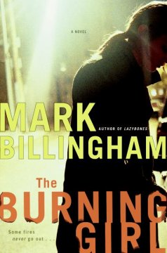 The burning girl cover image
