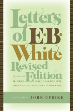 Letters of E.B. White cover image