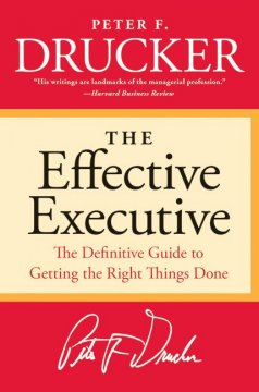 The effective executive cover image