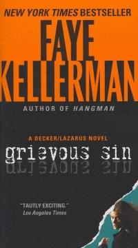Grievous sin : a Decker/Lazarus novel cover image