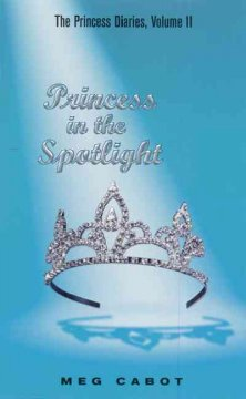 Princess in the spotlight cover image