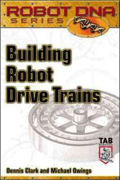 Building robot drive trains cover image