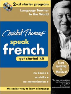 Speak French. Get started kit cover image