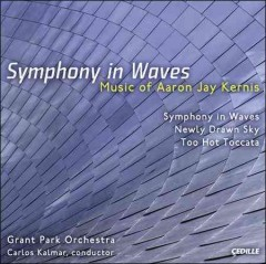 Symphony in waves music cover image