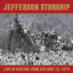 Live in Central Park NYC May 12, 1975 cover image