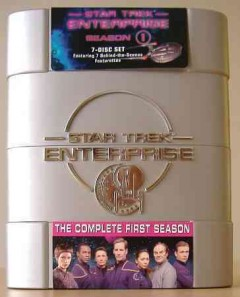 Star Trek Enterprise. Season 1 cover image