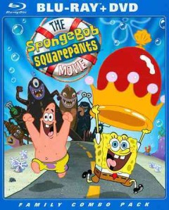 The SpongeBob SquarePants movie [Blu-ray + DVD combo] cover image