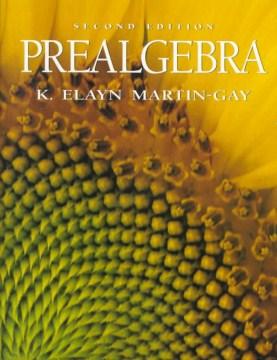 Prealgebra cover image