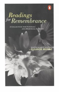 Readings for remembrance : a collection for funerals and memorial services cover image