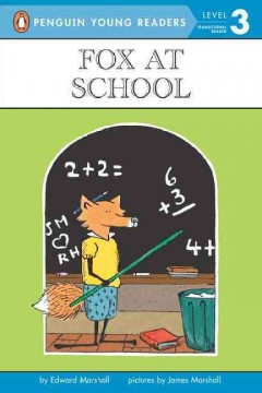Fox at school cover image