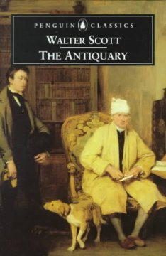 The antiquary cover image
