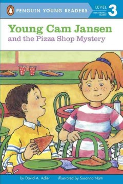 Young Cam Jansen and the pizza shop mystery cover image