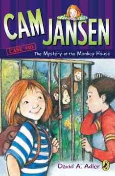 The mystery at the monkey house cover image