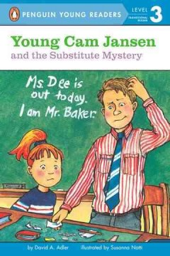 Young Cam Jansen and the substitute mystery cover image