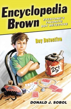 Encyclopedia Brown, boy detective cover image